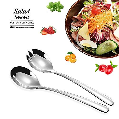 Salatbesteck Set Edelstahl 304 FOXAS Salatlöffel