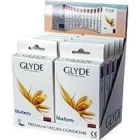 Glyde Ultra Blueberry Vorteilspackung: 10 x 10 vegane Kondome preisvergleich bei billige-tabletten.eu