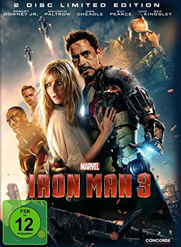 Bild von Iron Man 3 (Steelbook) [Limited Edition] [2 DVDs]