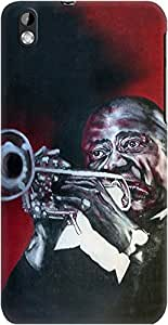 DailyObjects Louis Armstrong Case For HTC Desire 816