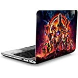 SANCTrix Laptop Skin | Avenger Infinity War | Marvel Movie | Skin Cover | 14 14.1 14.5 15 15.5 15.6 16 16.5 17 Inch | Combo Pack Of Free Sticker | High Quality | HD Skin | UV Skin | Matte Finished | PVC Vinyl | Scratch Proof | Waterproof | Easy Removable