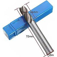 Brocas para fresadora de metal HSS rectas 4/6/8/10/12 mm