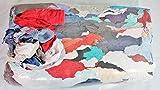 Putzlappen aus Baumwolle 25 Kg Putztücher für Werkstatt Sack Lappen