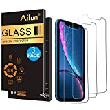 Ailun Screen Protector Compatible iPhone XR (6.1inch 2018 Release),[3 Pack],0.33mm Tempered Glass, Compatible