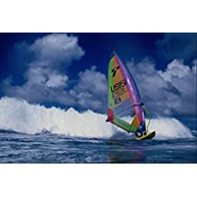 568087 Surfing The Wave Hookipa Maui Alex Aguera A4 Photo Poster Print 10x8