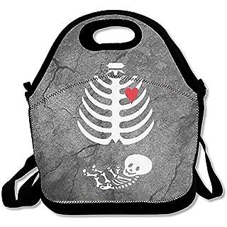 Lunch Taschen,Schwangere Skelett Xray Kostüm Large \U0026 Thick Insulated Tote Bayfield Taschen Yeti Lunch Bag Für Männer Frauen Kinder Art Of Lunch