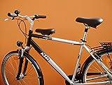 Herren Fahrrad Kindersitz für vorn ('wie in DDR Zeiten') VARIANTE 2: Ø 35mm-50mm