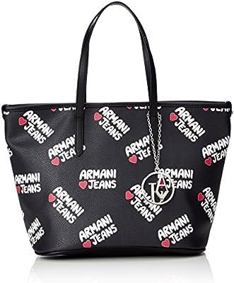 Armani Jeans 9220297P773 - Shopper de Material Sintético Mujer 17x23x34 cm (B x H x T)