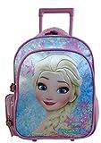 Paxos 53536 Sac à dos à roulettes maternelle - Disney - La reine des Neiges