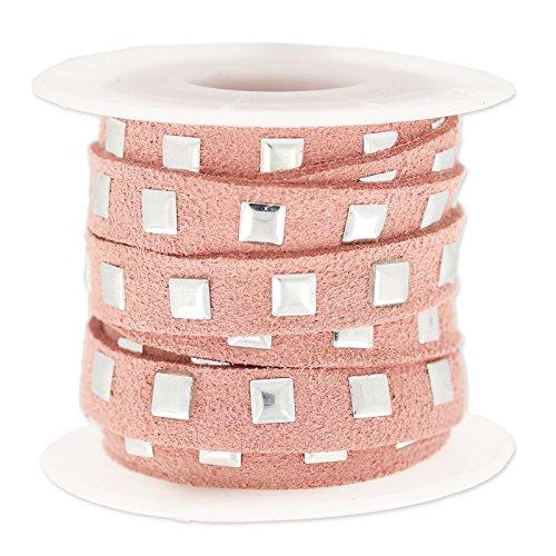cordon-plano-imitacion-gamuza-cloute-10-mm-vieux-rose-argente-x3m