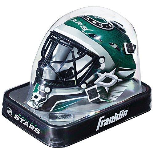 Franklin Sports Eishockey-Sammelartikel Torwart-Helm Mini, Design: Logo Einer NHL-Mannschaft, Unisex, 7784F25, Dollos Stars, Einheitsgröße Dallas Stars Hockey Logo