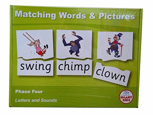 Smart Kids lt41Passende Worte und Bilder Spiel, Phase 4 (Ein Wort Vier Bilder)