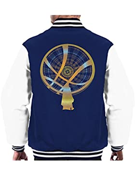 Doctor Strange Mystic Energy Gold Men's Varsity Jacket