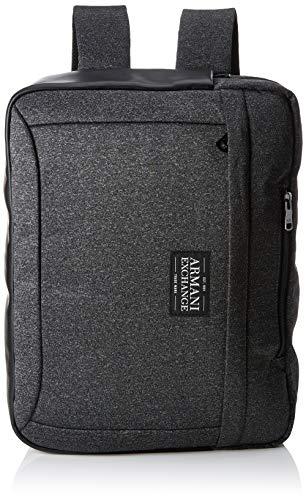 2d167142dc Armani Exchange Briefcase Backpack, Organiseurs de sacs à main homme, Noir  (Dark Grey