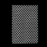Non-brand Kunststoff Rechteck Lochmatte Matte Platte Für Hund Kaninchen Käfig 38 * 25cm
