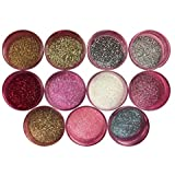 Disco Cake MULTICOLOR I SET (11 colors) 5 GRAMS EACH CONTAINER, for cakes, cupcakes, fondant, decorating, cake pops By Oh! Sw