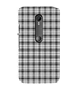 EPICCASE black golfer checks Mobile Back Case Cover For Moto G 3rd Gen (Designer Case)