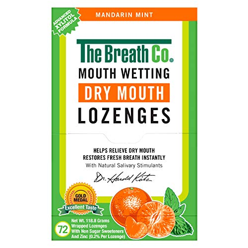 Atemfrische--Pastillen mit Sauerstoff gegen Mundgeruch