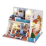 TinkSky Kit Miniatura per casa delle Bambole Fai-da-Te con Accessori per l'arredamento Creativo Regalo Romantico per Gli Amanti dei Bambini e degli Amici