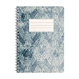 Bloc-notes | Cahier | Notebook | Journal | Carnet WIREBOOKS 5040 DIN A5 120 pages de papier 100g blanc vierge
