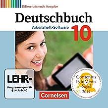 Deutschbuch 10. Schuljahr - Zu allen differenzierenden Ausgaben - Übungs-CD-ROM zum Arbeitsheft