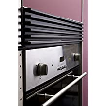 FILINOX - Rejilla Ventilaci Mueble Negra Filinox 60 Cm