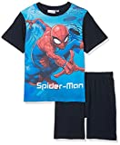 Marvel the Amazing Spiderman, Pigiama Bambino, Blu (Blue 19-4010TC), 3 Anni