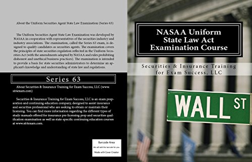 NASAA Uniform State Law Examination Course: Series 63 (English Edition) (Erwachsenen Uniformen)