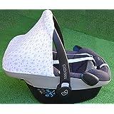 Capota para Maxi-Cosi Pebble, Bebé Confort. Grey Skulls Janabebe ®