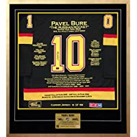 Generic Pawel Wladimirowitsch Bure Karriere Jersey # 10 der 199 – Autogramme – Vancouver Canucks