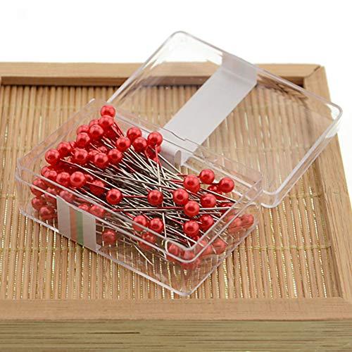 100 piezas/caja de alfileres de costura