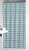 Sealskin Textil Duschvorhang Motif, Farbe: Petrol, B x H: 180 x 200 cm