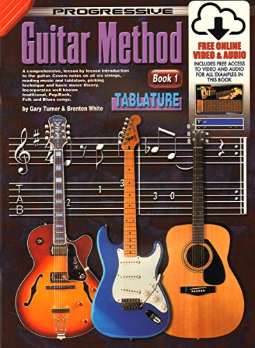 Tablature (Progressive Guitar Method) (Method Guitar Progressive)