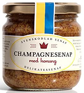Senf mit Sekt Champagner/Honig