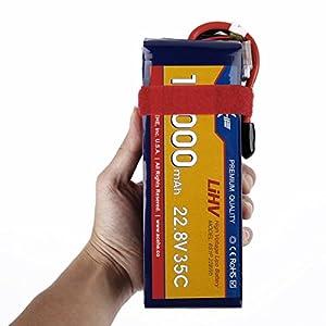 Dailyinshop ACEHE 22.8V 10000mAh 35C 6S1P 228Wh XT60 Plug High Voltage Lipo Battery