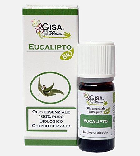 EUCALIPTO BIO Aceite esencial 100% puro y natural biológico