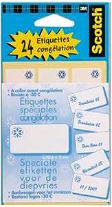 Scotch MMM390 24 Etiquettes congélation 25x50
