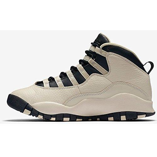 Nike Air Jordan 10 Retro Prem Gg, Scarpe da Basket Donna Bianco (Blanco (Blanco (Pearl White / Black-Black)))