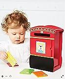 ELC Briefkasten aus Holz mit 5farbigen Buchstaben für Alter 12Monate +