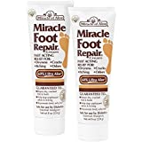 Miracle of Aloe 2-Pack Miracle Foot Repair Cream 8 oz