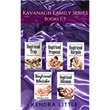 The Complete Kavanagh Family Series Box Set: Books 1-5 (The Kavanagh Family)