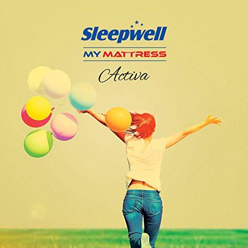 Sleepwell Activa Firmtec Mattress - (72 x 36 x 4 Inches, Maroon)
