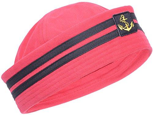 Retro Anchor SAILOR Uniform Pin Up MATROSEN Hütchen HUT (Frauen Hut Matrosen Für)