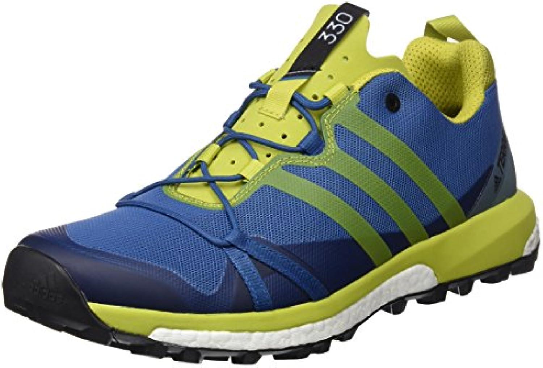 Adidas Terrex Agravic, Zapatos de Senderismo para Hombre, Azul (BLU Azubas/Limuni/Vertac), 40 EU