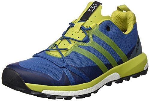 adidas Terrex Agravic, Chaussures de Randonnée Homme, Bleu (Blu Azubas/Limuni/Vertac), 44 EU