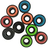 SKY 3PCS 608 híbridos rodamientos de bolas para Tri-Spinner Hand Spinner EDC juguete Fidget (multicolor)