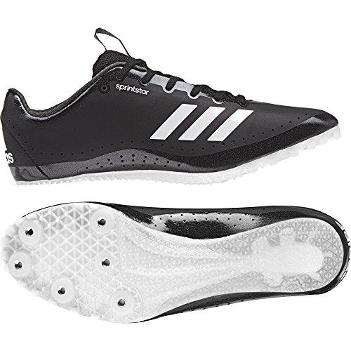 adidas Damen Sprintstar Leichtathletikschuhe, Schwarz (Negbas/Naranj/Ftwbla 000), 45 1/3 EU