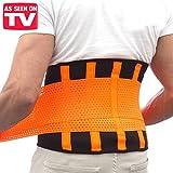 Die exklusive Stirnband doppelt Kompression Progressive. Gürtel für die Rücken Duo 85g verstellbar dass komprimiert und korrigiert die Körperhaltung–doppelt für eine perfekte Passform. Verteilt die Mass und lindert Schmerzen Lendenwirbel–Power Belt Körperhaltung und Containment im Bauch–Xtreme Fitness Extreme Shape Bauchweg Formen Modellieren Schlankheitskur für Ihre Bauchmuskeln Extreme und für verhindern Verletzungen–Größe Medium/M
