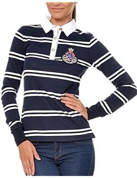 M.Conte Women Polo-Shirt Camisa Blusa de Polo para las mujeres Kaylie