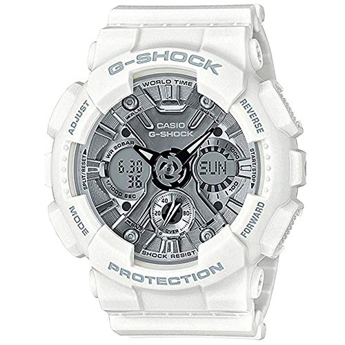 Casio G-Shock By Women's S Series GMAS120MF-7A1 Watch White